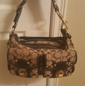Coach 65th Anniversary Legacy Pocket Hobo Satchel